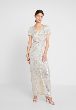 SHEA SEQUIN DRAPE - Robe de cocktail - sequin