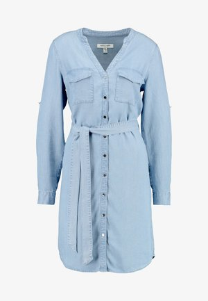 BELINDA DRESS - Vestito di jeans - mid wash