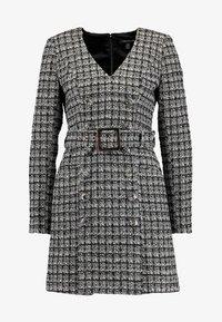 Forever New - BELTED DRESS - Shift dress - black/white - 6