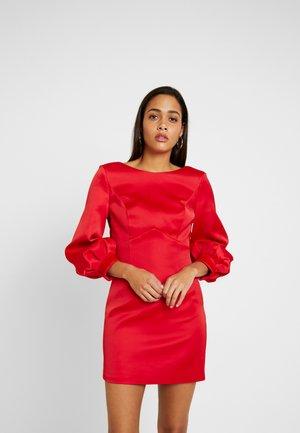 TAZMIN MINI BOW DRESS - Cocktail dress / Party dress - red