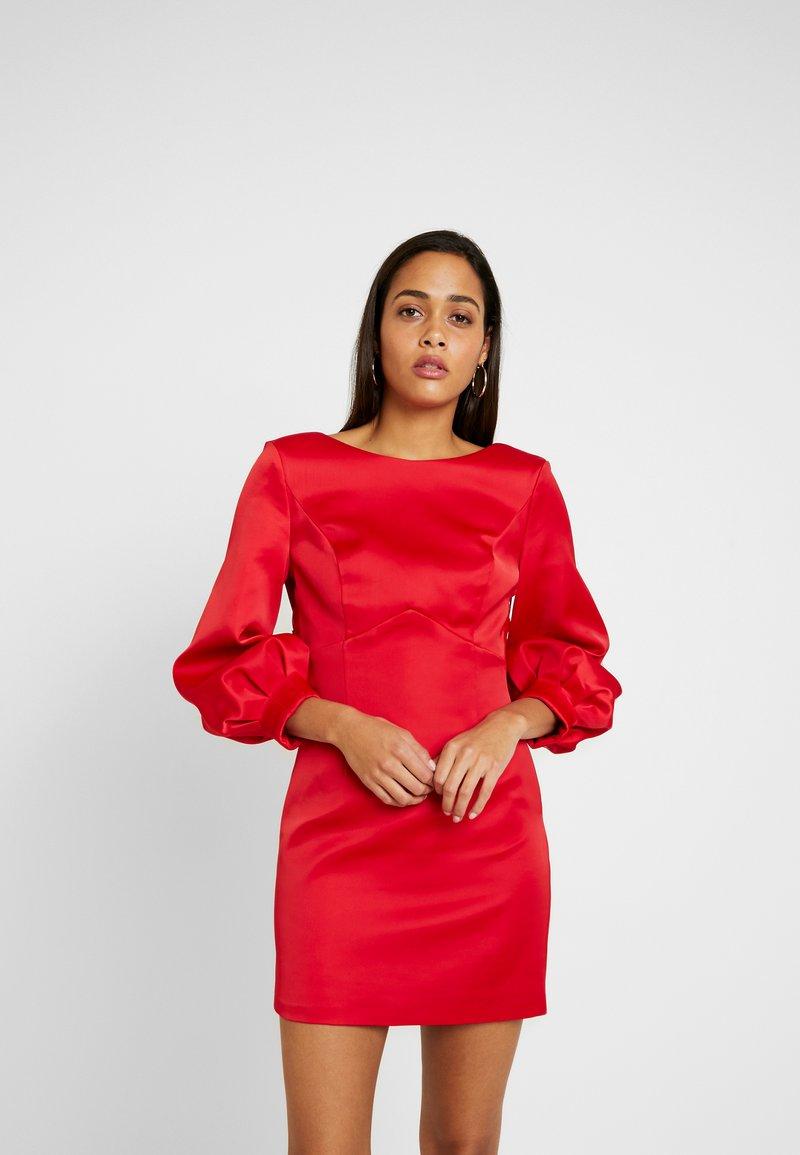 Forever New - TAZMIN MINI BOW DRESS - Cocktailkleid/festliches Kleid - red