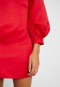 Forever New - TAZMIN MINI BOW DRESS - Cocktailkleid/festliches Kleid - red - 5
