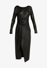Forever New - TESSA TWIST LONG SLEEVE DRESS - Vestido informal - charcoal - 4