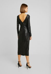 Forever New - TESSA TWIST LONG SLEEVE DRESS - Vestido informal - charcoal - 3