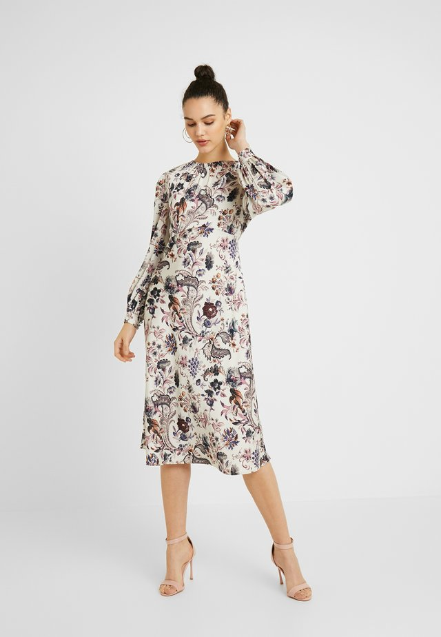 TATIANA GATHERED NECK DRESS - Vestido informal - multi-coloured