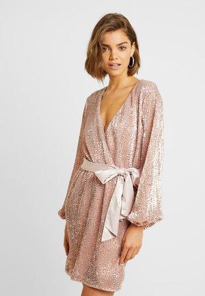 SEQUIN MINI - Cocktail dress / Party dress - pink