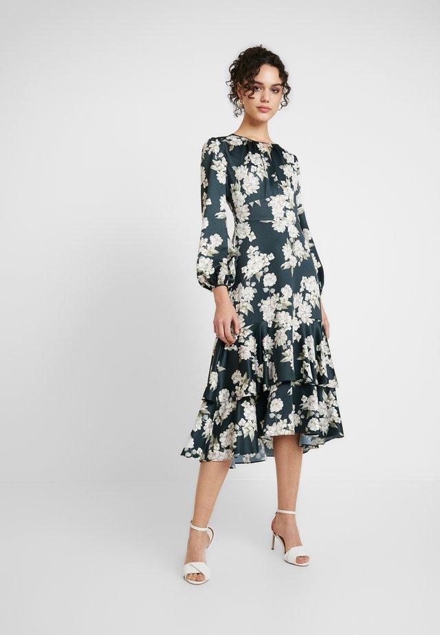 MIDI DRESS - Sukienka letnia - teal