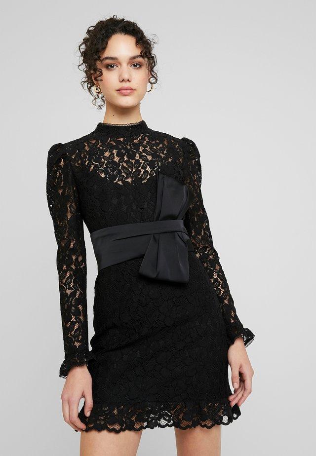 BOW MINI - Koktejlové šaty/ šaty na párty - black