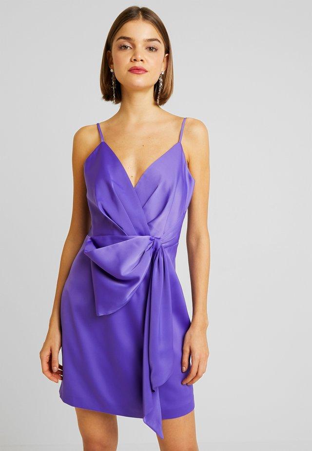 LINDSEY BOW MINI - Cocktail dress / Party dress - purple