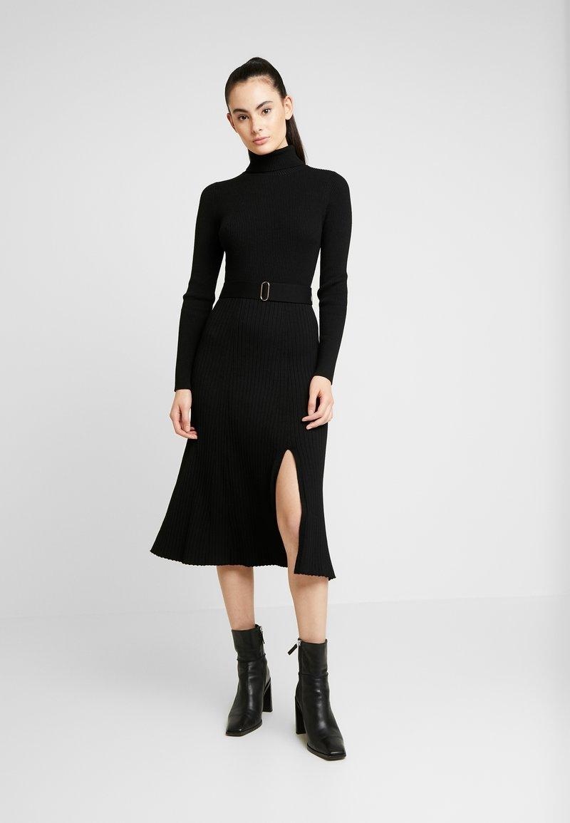 Forever New - STEPHANIE MIDI DRESS - Vestido de punto - black