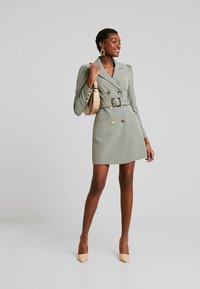 Forever New - BERNADETTE BELTED BLAZER DRESS - Day dress - khaki - 2