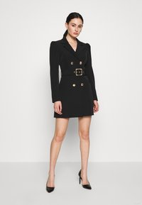 Forever New - BERNADETTE BELTED BLAZER DRESS - Vestido informal - black - 1