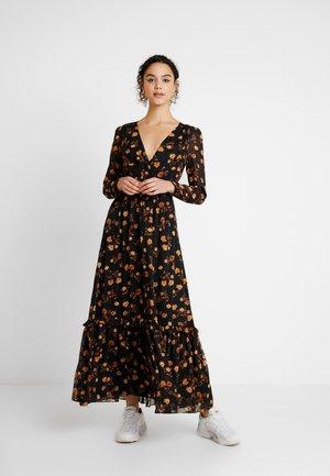 LENORA MAXI - Maxi šaty - black