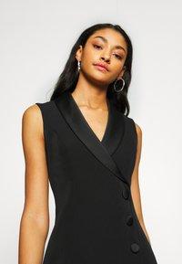 Forever New - NALA SLEEVELESS TUX DRESS - Vestido informal - black - 4