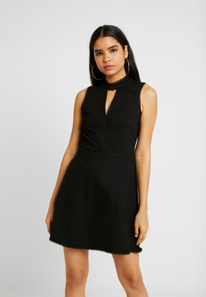 PONTE SPLICED PROM - Vestito elegante - black