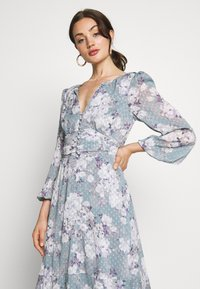 Forever New - FLORAL HIGH-LOW - Robe longue - mint - 4