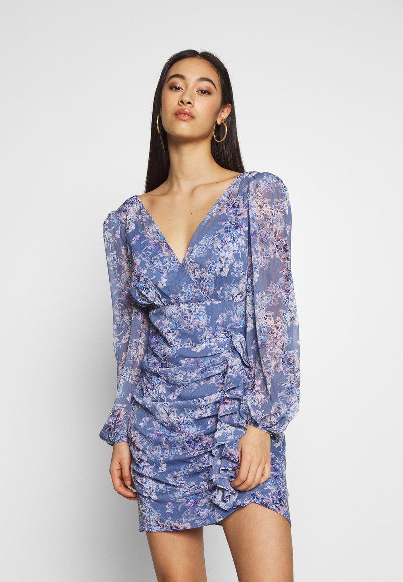 Forever New - TASSA FLORAL MINI - Kjole - blue floral