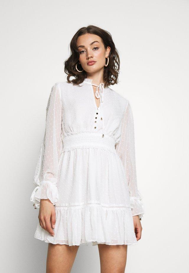 MACIE SKATER DRESS - Sukienka letnia - porcelain