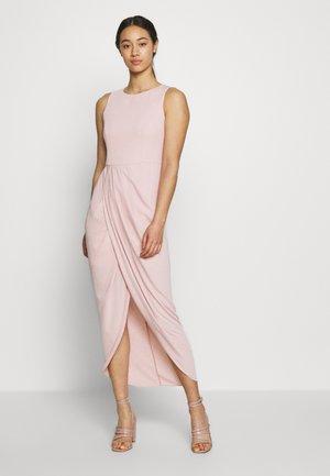 DRAPE DRESS - Suknia balowa - blush