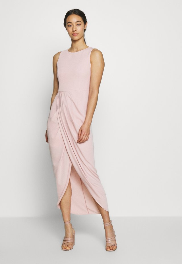 DRAPE DRESS - Ballkleid - blush
