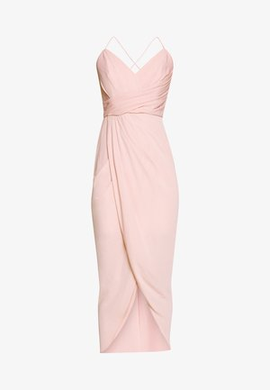 CHARLOTTE DRAPE MAXI DRESS - Maxi-jurk - nude