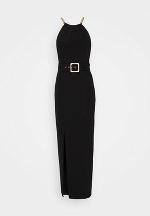 BELTED  - Vestito elegante - black