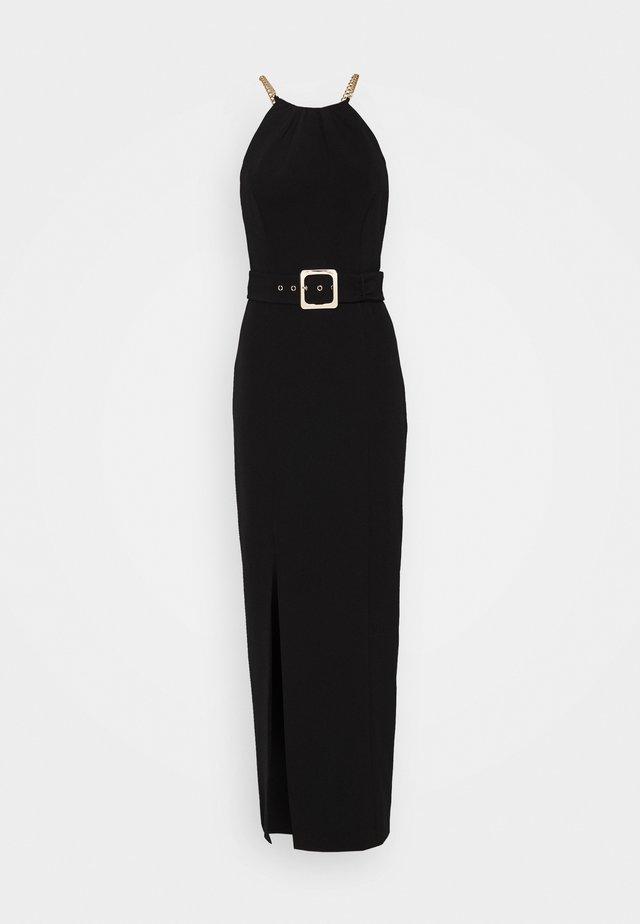 BELTED  - Vestido de cóctel - black