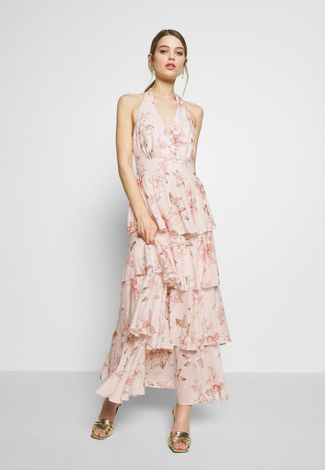 LAYERED - Długa sukienka - cream