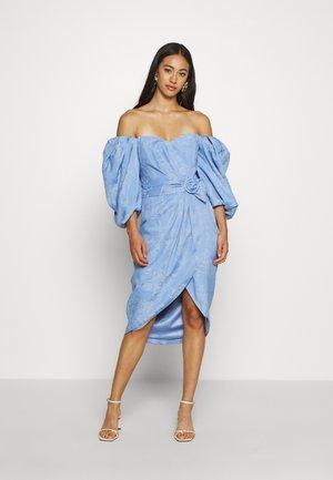 PUFF SLEEVE DRESS - Vestido de cóctel - lavender