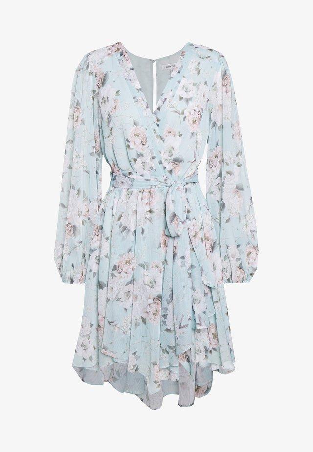 MARIANA WRAP HANKY HEM DRESS - Vestido informal - mint