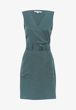 KATY SLEEVLESS D-RING DRESS - Sukienka letnia - pine blues
