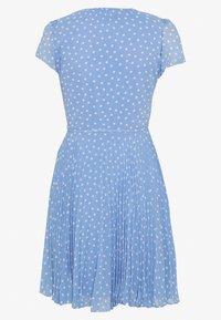 Forever New - SABRINA WRAP SKATER MINI DRESS - Day dress - blue - 1