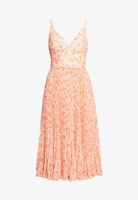 Forever New - MARLEY PLEATED MIDI DRESS - Sukienka letnia - apricot harvest botanical - 4