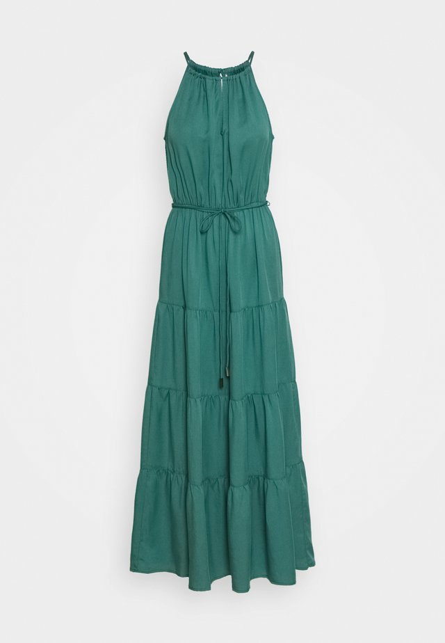 ANNIE TIERED MAXI DRESS - Maxi-jurk - green teal