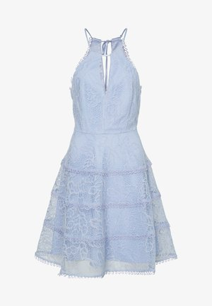 ELANDRA HALTER DRESS - Juhlamekko - blue