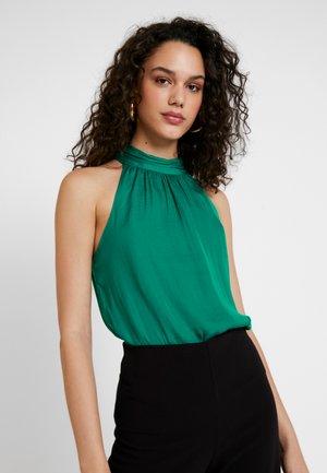 TWIST NECK - Pusero - palm green