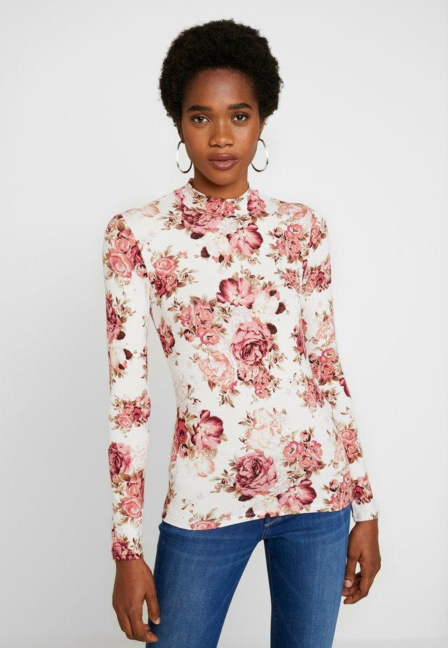 JEREMINE SKIVVY - T-shirt à manches longues - rosewood floral