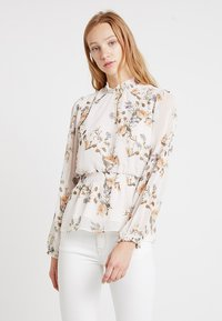 Forever New - JAYDE OPEN PLACKET BLOUSE - Blusa - pink - 0