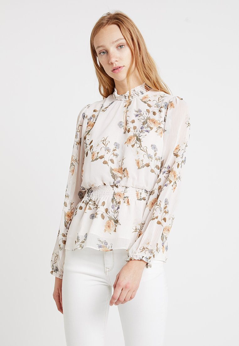 Forever New - JAYDE OPEN PLACKET BLOUSE - Blusa - pink
