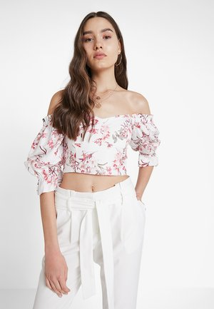 PUFF SLEEVE BODICE - Blouse - tropical