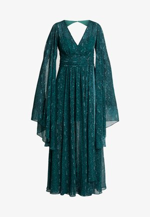 SNAKE DRESS - Maksimekko - emerald