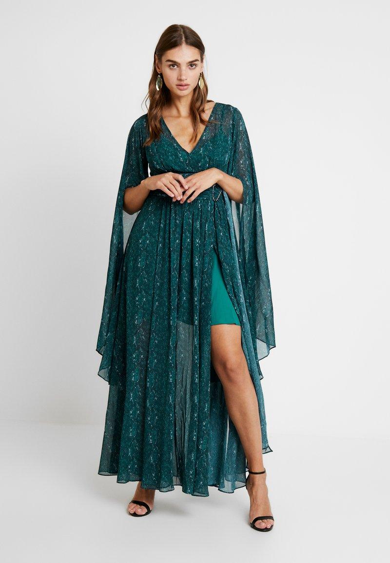 Forever New - SNAKE DRESS - Maxikleid - emerald