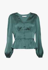 Forever New - DOROTHY PLUNGE BUTTON TOP - Bluser - deep teal - 5