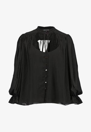 XANNA SHEER BLOUSE - Skjorte - black