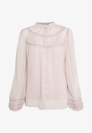 CORNELIA CURVED YOKE BLOUSE - Blouse - blush