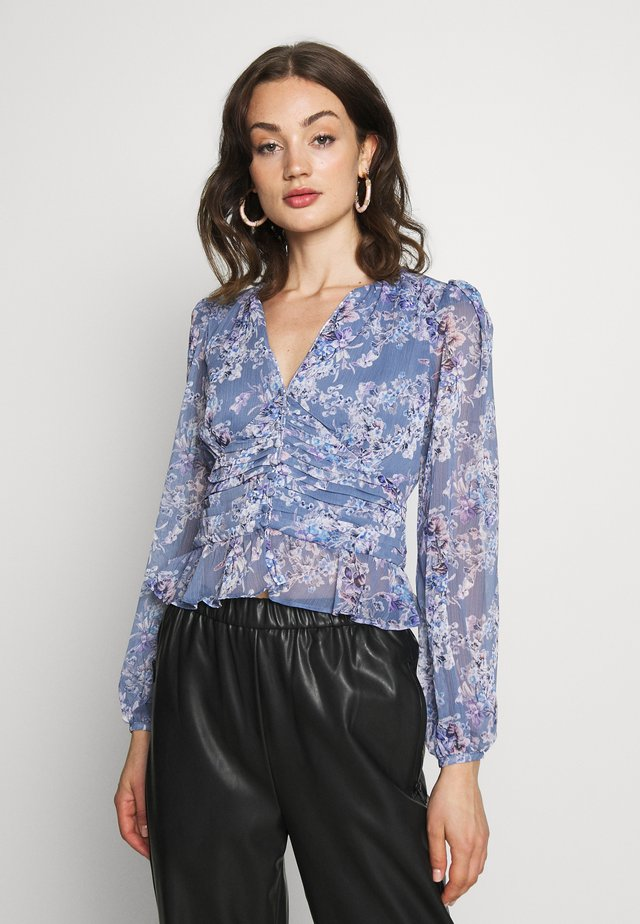 DITSY FLORAL  - Blusa - blue