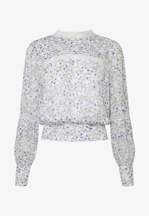 PLEAT DETAIL TOP - Blusa - climbing speckled ditsy