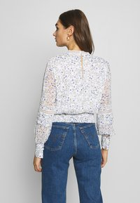 Forever New - PLEAT DETAIL TOP - Blusa - climbing speckled ditsy - 2