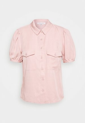 ELSA PUFF SLEEVE - Button-down blouse - pastel salmon