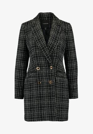 LAUREN BOUCLE - Short coat - black